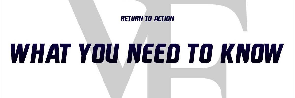 Return to Action – What You Need to Know