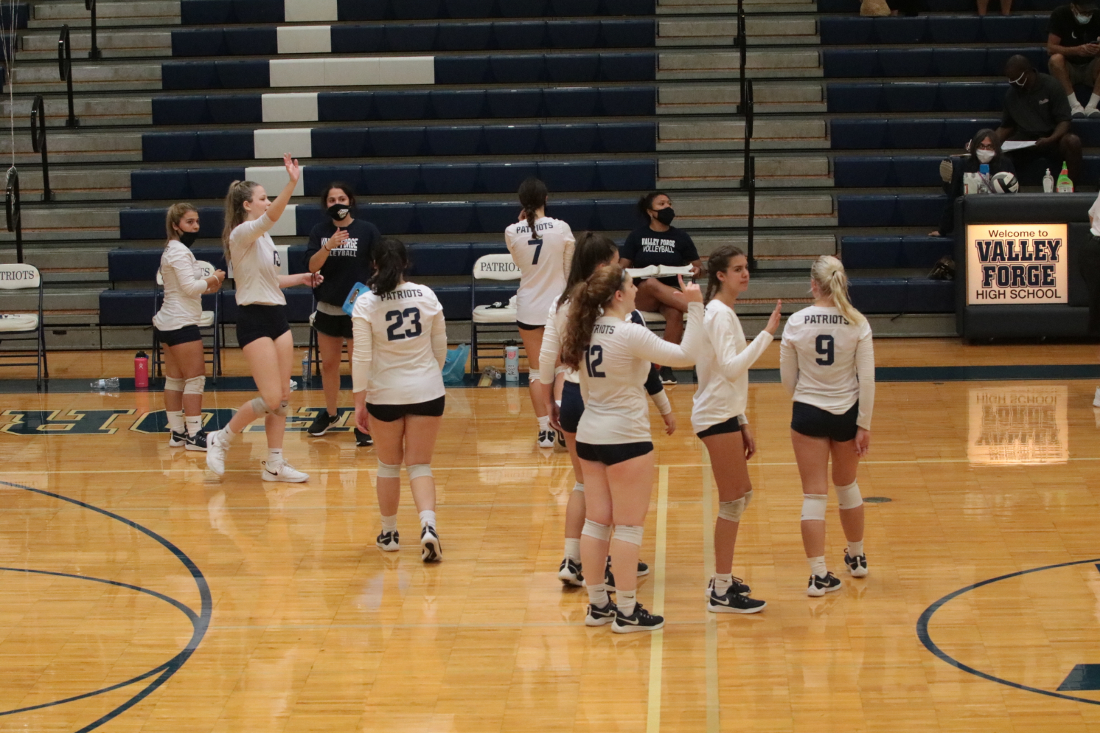 Volleyball Action Pics v Rocky River