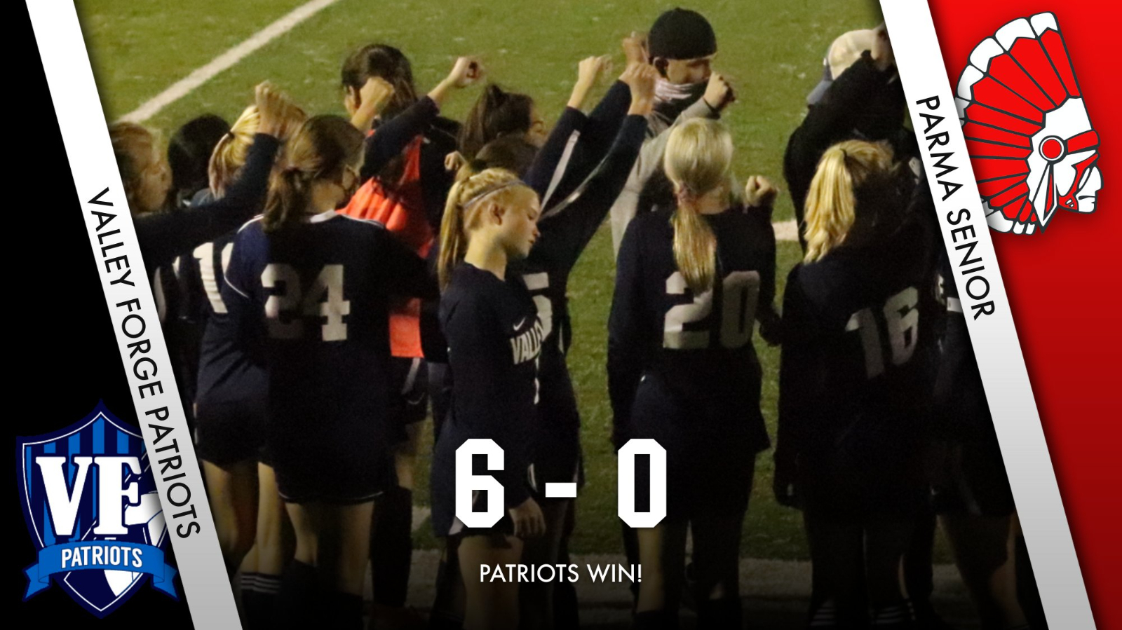 Patriots Strike Early – Advance to Second Round