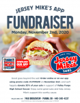 Boys Soccer Fundraiser – Nov 2