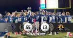 Patriots Run Past the Invaders 55-13