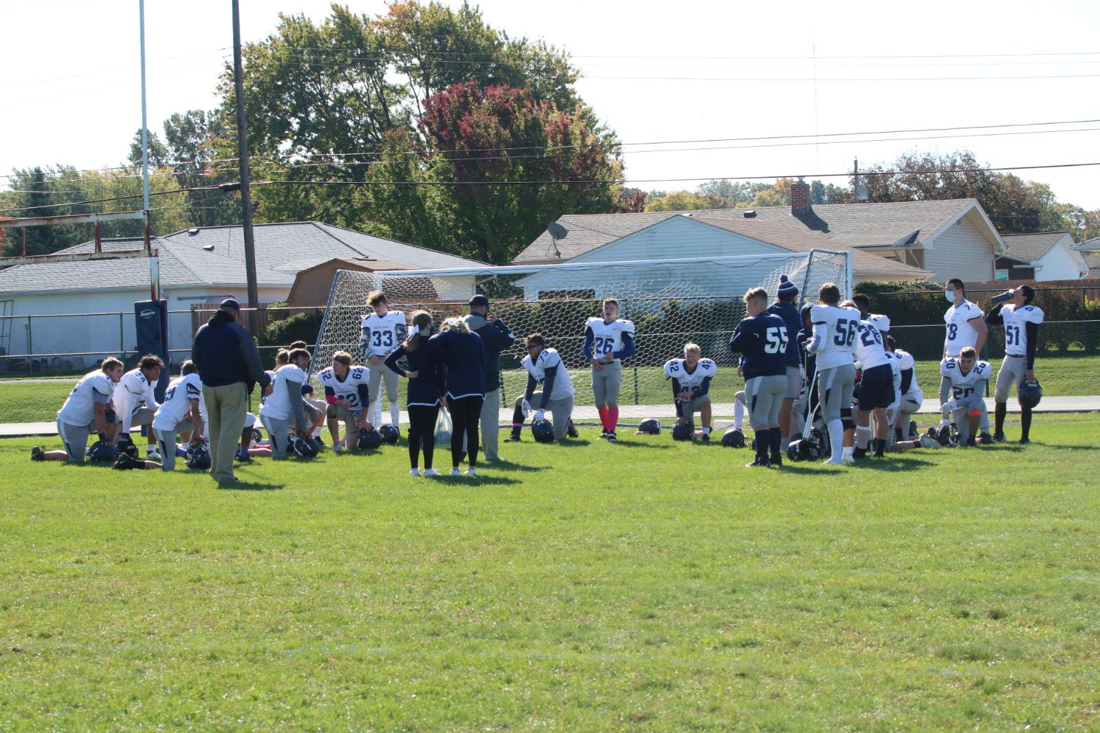 JV Football Pics v Fairview