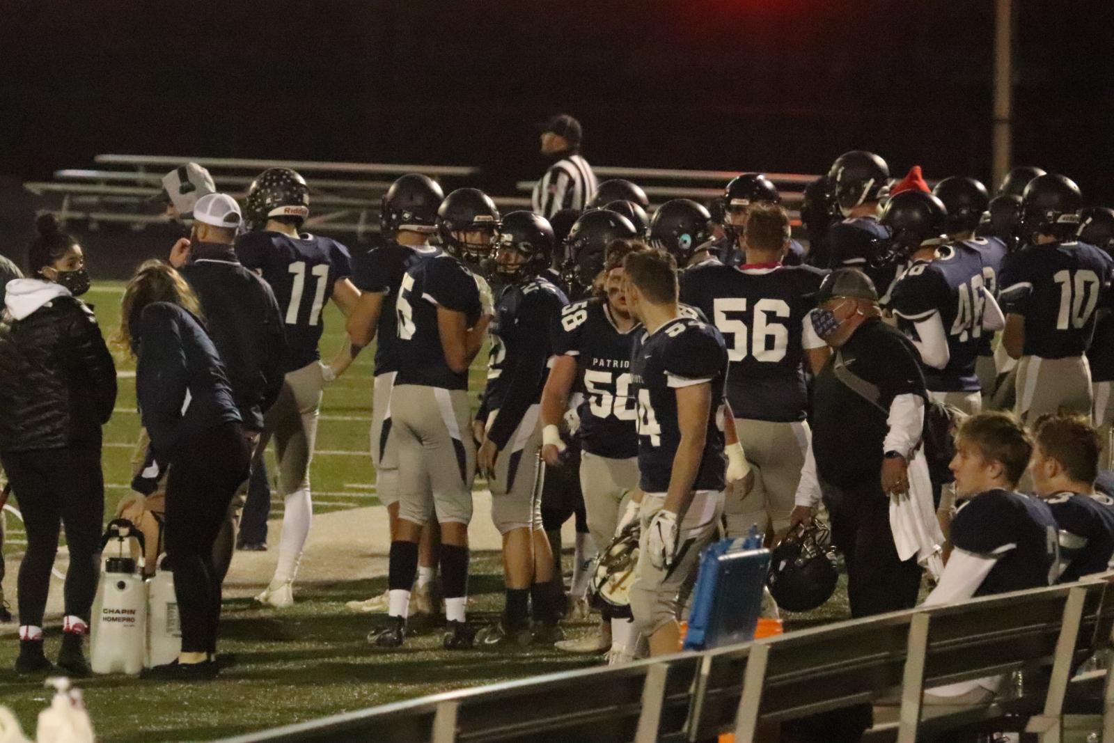 Varsity Football Pics v Rocky River