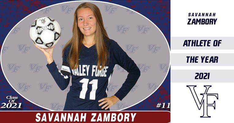 Savannah Zambory Named VF 2021 Female Athlete of the Year