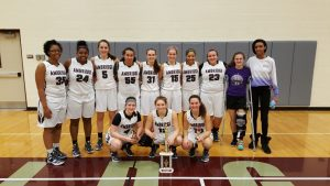 Lady Bridgers Finish 1st