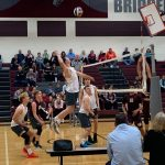 Boys Volleyball Rallies for PIAA First Round Win