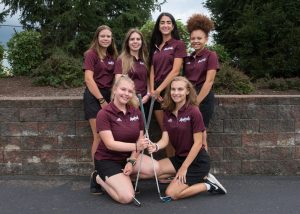 Ambridge Girls' Golf team photo. Photo credit: Alan Freed