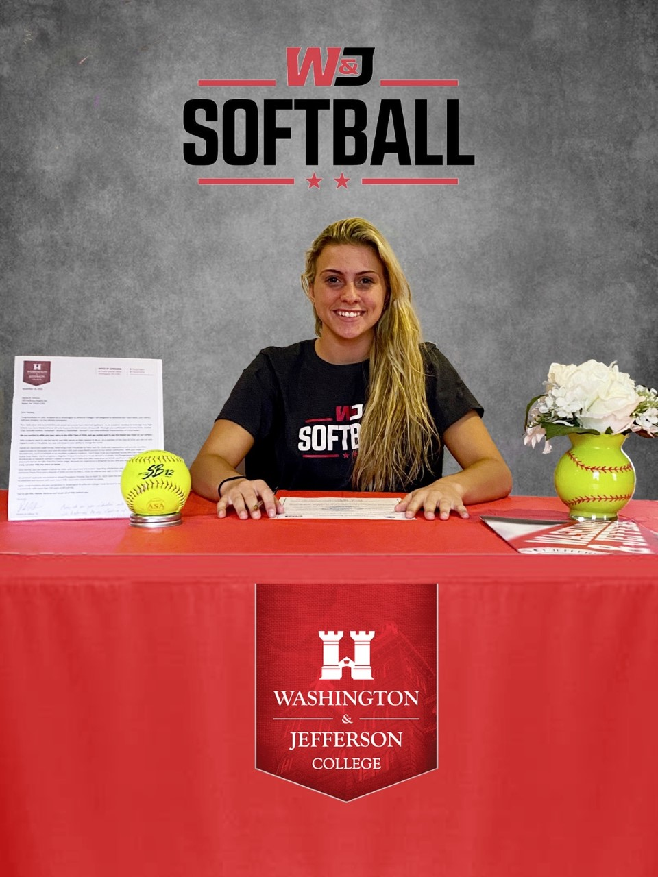 Haylee Holman commits to Washington and Jefferson College