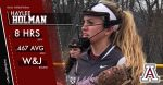 Softball's Haylee Holman featured in the Times Online!