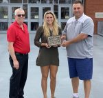 HAYLEE HOLMAN RECEIVES JOHN CHALLIS COURAGE AWARD