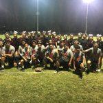 St. Pius X – St. Matthias Academy Boys Varsity Flag Football beat Ambassador 30-0