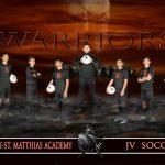 PMA JV Boys Soccer Team Picture 2016-2017