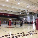 St. Pius X – St. Matthias Academy Boys Varsity Volleyball beat Artesia High School 3-0