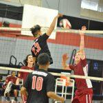 St. Pius X – St. Matthias Academy Boys Varsity Volleyball beat St. Bernard 3-0
