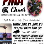 PMA Cheer Tryouts For Incoming Freshmen