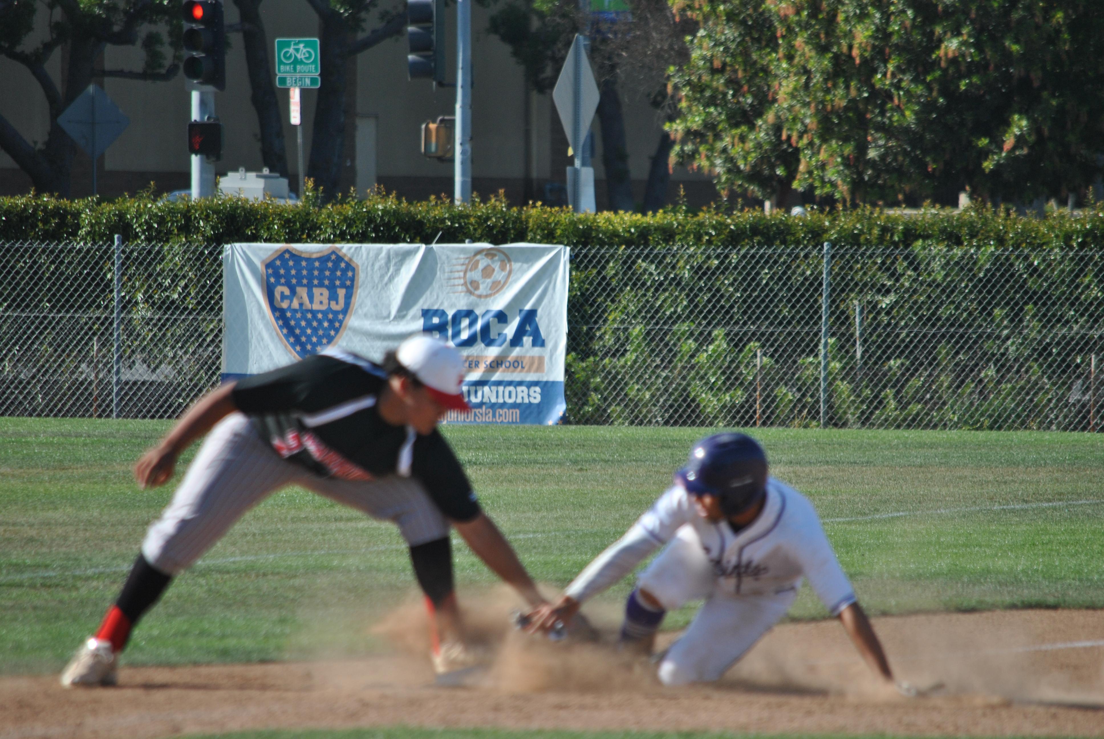Boys Varsity Baseball beats Don Bosco Tech 2 – 1