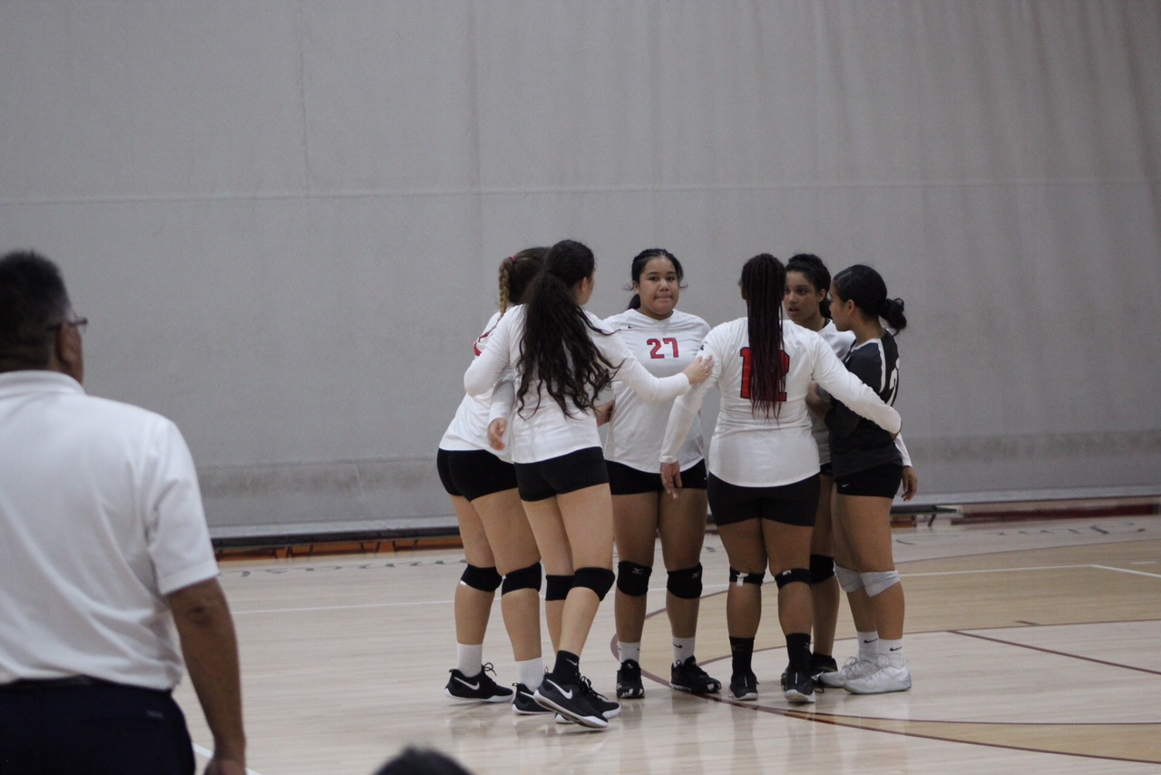Lady Warriors Volleyball Team Win In 3