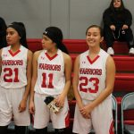 Girls Basketball Senior Night vs St. Genevieve 1/15/19