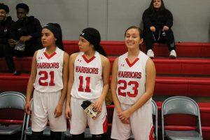 Girls Basketball Senior Night vs St. Genevieve 1/15/19