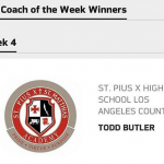 Coach Butler – L.A. Chargers Coach of the Week