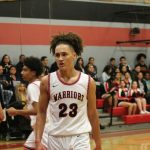 Varsity Boys Basketball opens up League play.