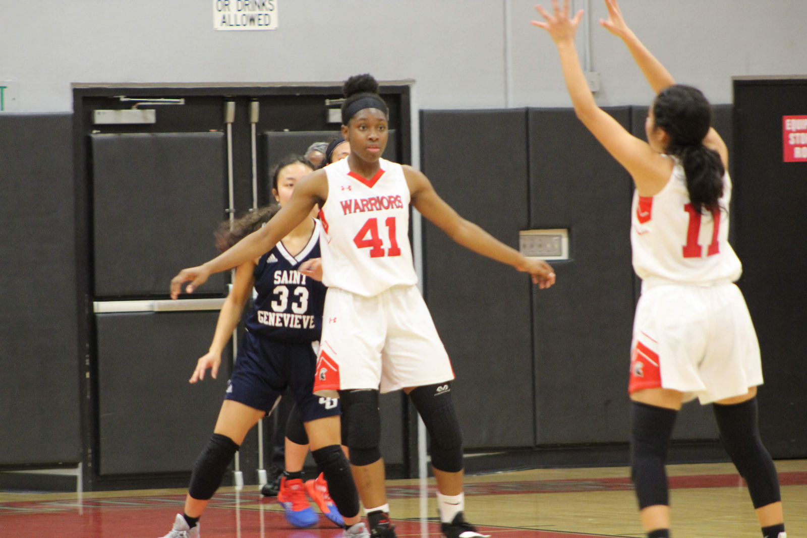Girls Varsity Basketball opens up league with Victory over St. Genevieve