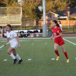 Girls JV Soccer beats St. Paul