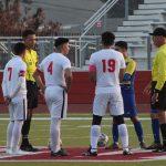 Boys Varsity Soccer plays Verbum Dei