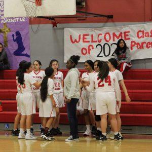 Girls JV Basketball vs St. Anthony
