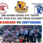 Warriors vs University City- 2nd Round State Regionals