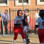 Softball plays Serra