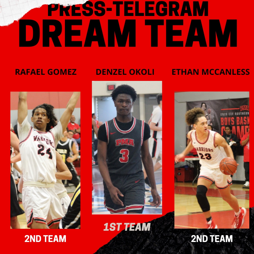 Press-Telegram 2020 Boys Basketball Dream Team