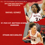 Ethan McCanless/Rafael Gomez selected to All-CIF