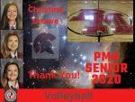 Senior Spring Athlete- Christine Crowe- Boys Volleyball