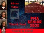 Spring Senior Athlete 2020- Alizey Tellez- Track & Field