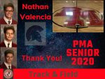 Spring Senior Athlete 2020 – Nathan Valencia-Track & Field