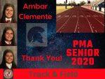 Spring Senior Athlete 2020- Ambar Clemente- Track & Field
