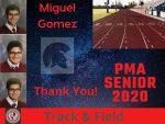 Spring Senior Athlete 2020- Miguel Gomez