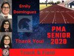 Spring Senior Athlete 2020- Emily Dominguez