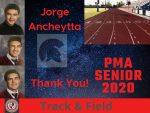 Spring Senor Athlete 2020- Jorge Ancheytta