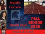 Spring Senior Athlete 2020- Majela Carrera