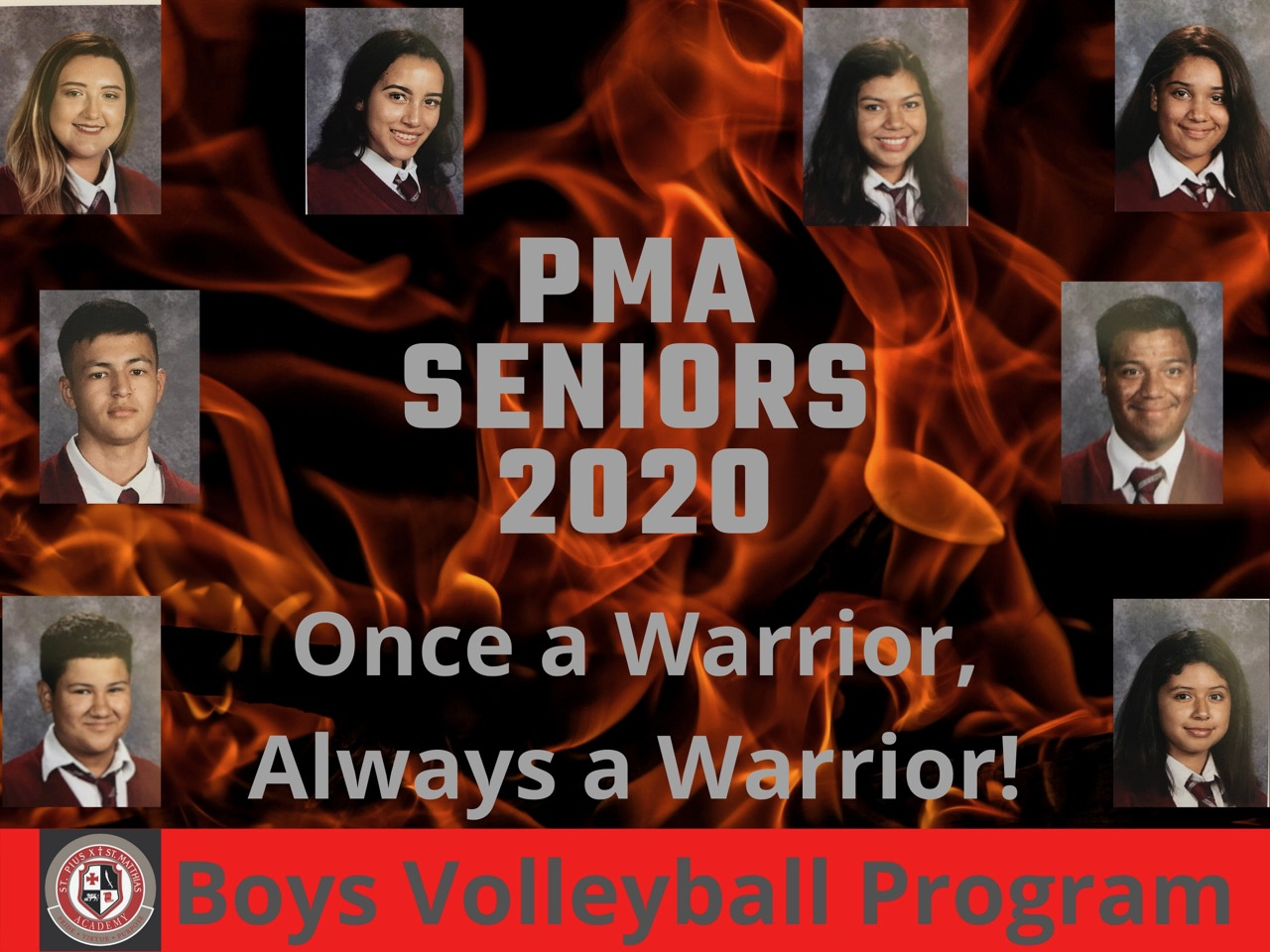 Boys Volleyball Program- Seniors! We will miss you!