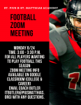 Football Zoom Meeting