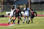 Girls Soccer finally gets to defend their League title!