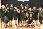 Boys Volleyball playing for League Title