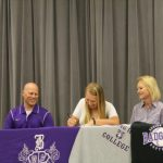 Laken Maulden signs to play softball at Spring Hill College