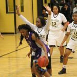 Pike County High School Girls Varsity Basketball falls to Bullock County High School 37-33