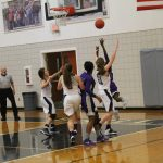 Pike County High School Girls Varsity Basketball falls to Providence Christian School 41-29
