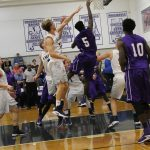 Pike County High School Boys Varsity Basketball beat Providence Christian School 46-40