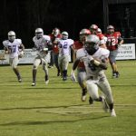 Boys Varsity Football beats George Long 26 – 9